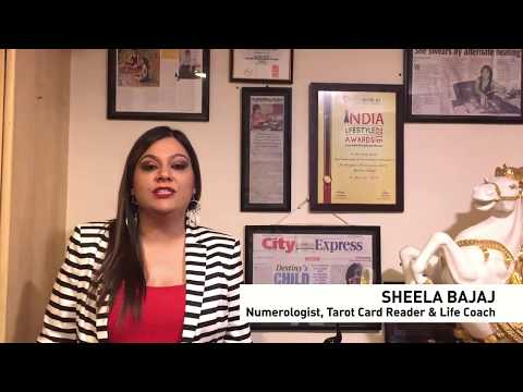 Tarot Card Reader sheela Bajaj with YourStory Media