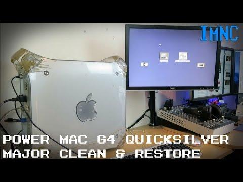 Power Mac G4 Quicksilver Restore & 'Clean'   IMNC