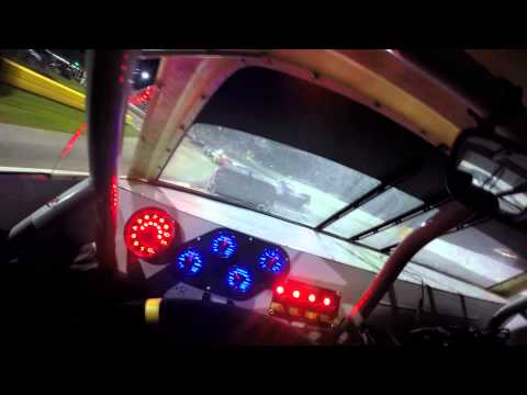 Driver's eye - NASCAR Super Late Model