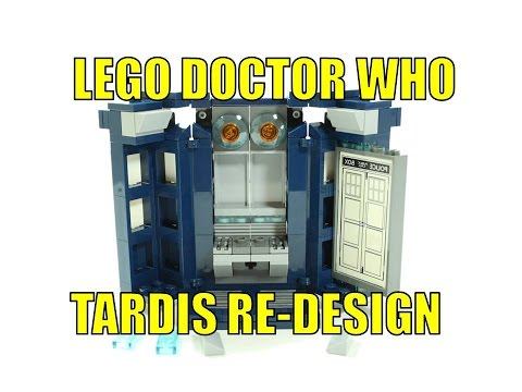 LEGO IDEAS DOCTOR WHO 21304 TARDIS RE-DESIGN OPENING