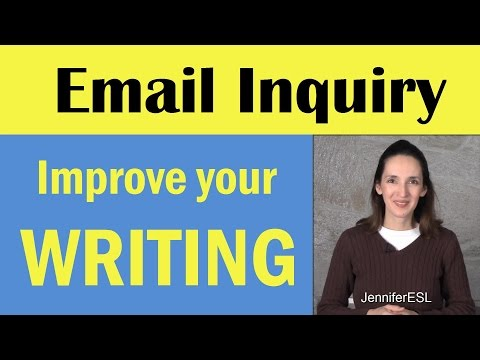 Learn Useful Phrases for Email Inquiries - English Writing Skills