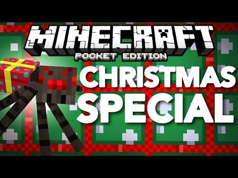✔️CHRISTMAS SPECIAL! // MCPE 1.0 Holiday Mashup Pack ft. ThePugCableHQ [Minecraft PE 1.0]