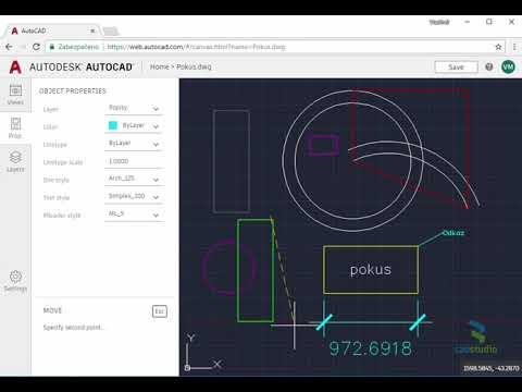 AutoCAD web app - create DWG in web browser
