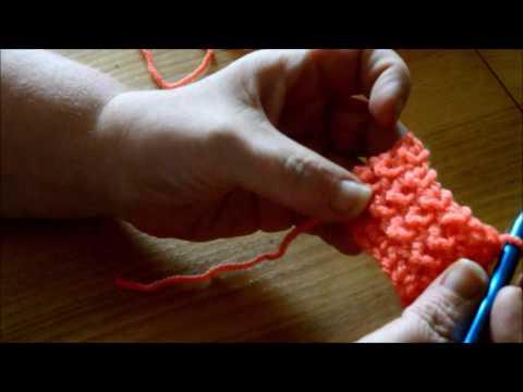 Garter stitch look - Crochet - Tutorial - English