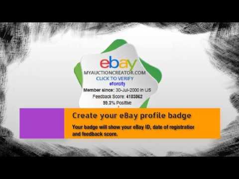 Grow Your eBay Business - My Auction Creator