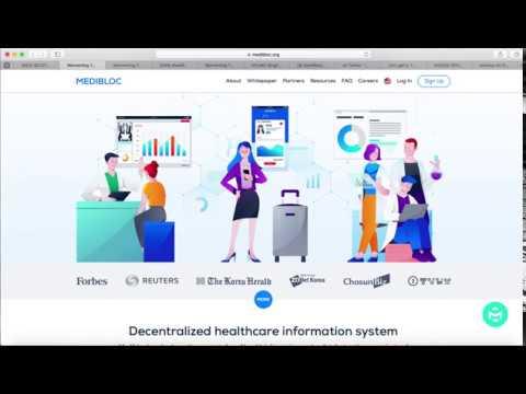 MediBloc $MED Airdrop Decentralized Personal Health record | Deloitte Partnership