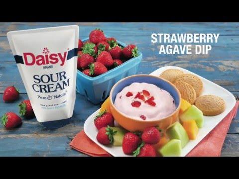 Strawberry Agave Dip