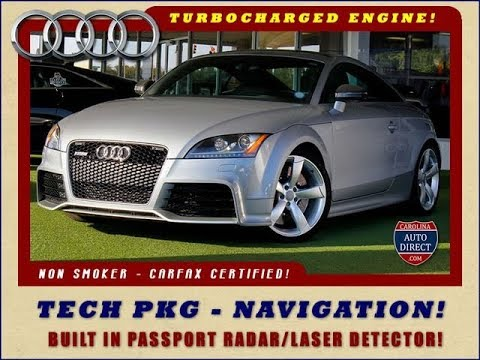 2013 Audi TT RS QUATTRO AWD - TECH PKG - PASSPORT DETECTOR