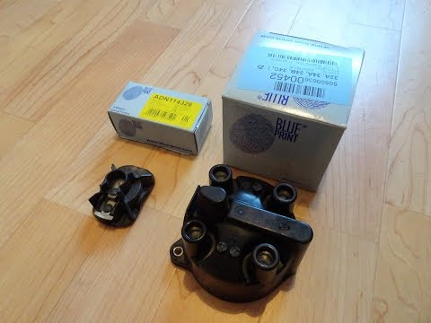 Nissan SR20 DiY- Distributor Cap and Rotor Change ⚡