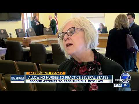 Colorado legislature working to make it easier for nurses to work in other states