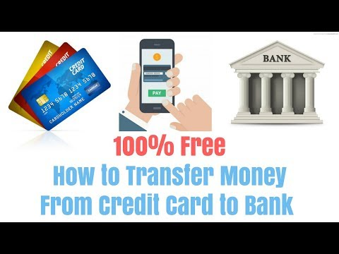 How to Transfer money from credit card to bank account in India without extra charge