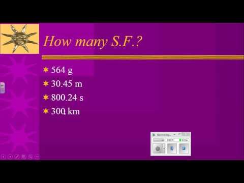 Significant Figures II