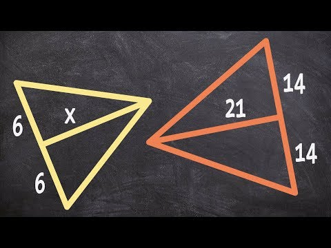 Geometry - How to use the medians of similar triangles to determine the missing length