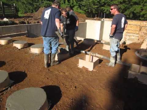 Concrete pier pads
