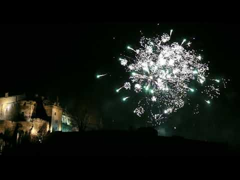 Stirling Castle Fireworks, 9pm Hogmanay Family Display.