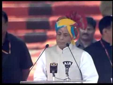 Rajnath Singh addresses passing out parade at National Police Academy in Hyderabad