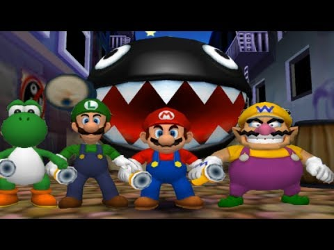 Mario Party 5 - All 4-Player Minigames