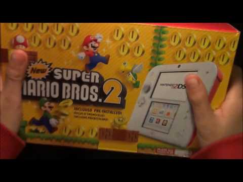 Nintendo 2DS Unboxing and Review