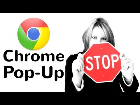 How to Stop Pop Up Window in Chrome 2018