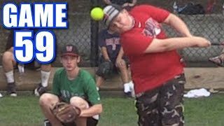 HITTING YOURSELF IN THE HEAD! | On-Season Softball Series | Game 59