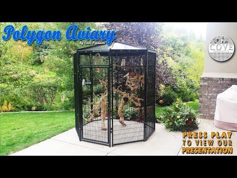 Walk In Bird Aviary - Polygon Aviary