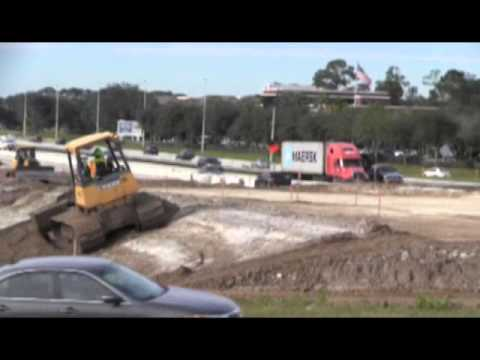 I-95 and Butler Blvd Traffic Shift for January 2016