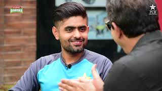 Tum Mein Aik Cup Chai Aur Cricket | Wasim Akram & Babar Azam | Pakistan vs Sri Lanka 2019