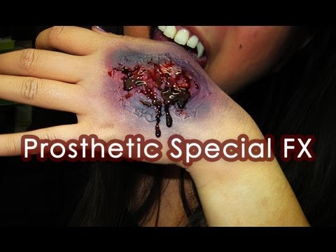 How To: Prosthetic Gelatin Special FX (Bullet Wounds, Decaying Rotting Flesh, Burnt Skin, etc)