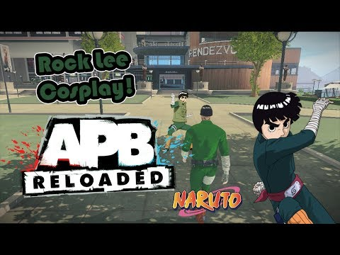 APB Reloaded - How to make Rock Lee outfit *WITHOUT PREMIUM*