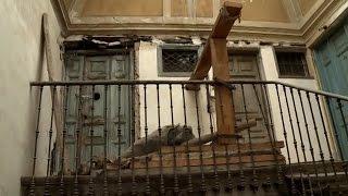 La casa del miedo está en Madrid muy cerca del Palacio y del Teatro Real