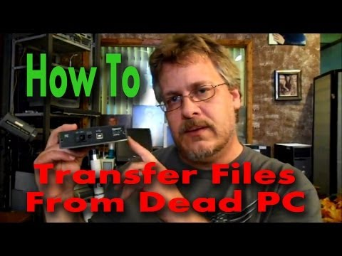 How to Recover Data From a Non-Bootable (dead) Computer