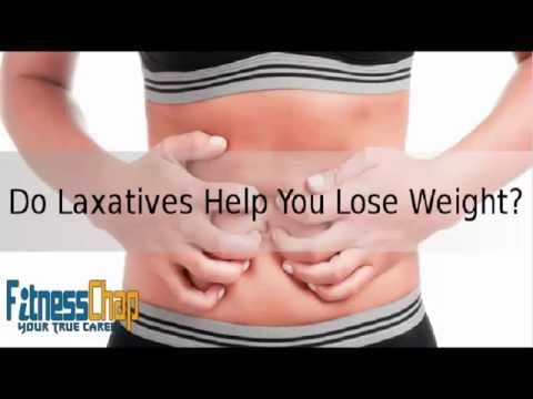 how to use laxatives for weight loss ?