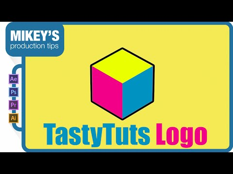 TastyTuts logo animation After Effects Tutorial