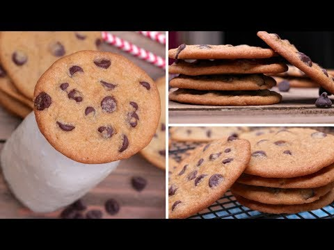 How to Make Thin & Crispy Chocolate Chip Cookies Recipe