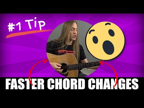 1 Simple Tip to Faster Chord Changes Steve Stine Guitar Lesson
