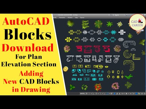 CAD Blocks Free Download And How to use it | New CAD blocks Download | CAD Blocks Insert