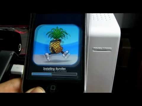 iPod touch 2ndGen Jailbreak (redsn0w)