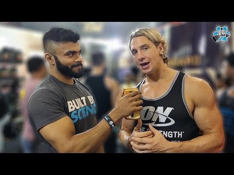 Shaun Stafford Exclusive Interview at IHFF Sheru Classic   WBFF Pro Fitness Model interview
