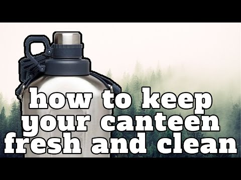 How to keep your canteen fresh and clean