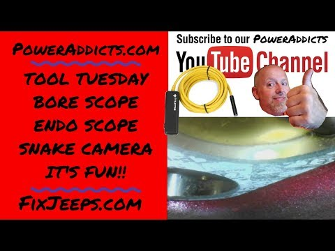 Bore scope, Endo scope, snake camera or whatever you wanna call it! #snakedcope #borescope