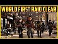 The Division 2 WORLD FIRST RAID CLEAR FULL