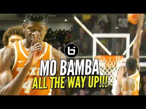 Mo Bamba HAND ON TOP OF BACKBOARD for Sportscenter #1 (crazy dunk)