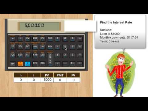 The HP-12C finance Introduction primer