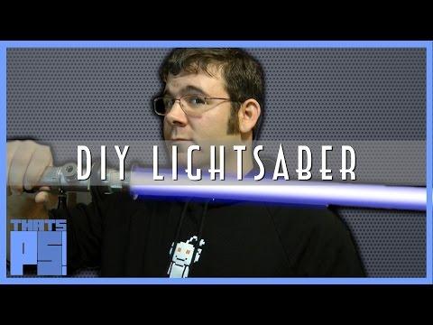 Easy way to make a (replica) lightsaber