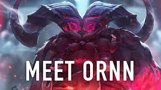 Meet Ornn, the Fire Below the Mountain | League of Legends Champion Reveal