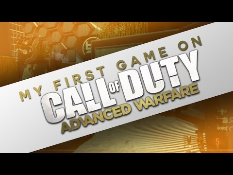 My First game on Call of Duty: ADVANCE WARFARE