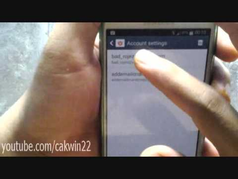 Samsung Galaxy S4: How to Change Default Email Account (Android Kitkat)