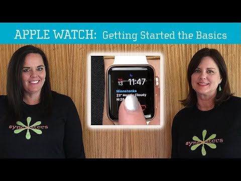 Apple Watch - Getting Started with The Basics