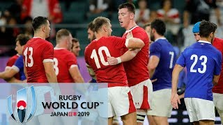 Rugby World Cup 2019 Wales Vs France EXTENDED HIGHLIGHTS 102019 NBC Sports