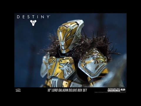 Mcfarlane Toys Destiny 10 inch Lord Saladin Deluxe Box Set First Look !